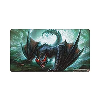 Ehsdde Monster Hunter World Iceborne Rise Mouse Pad,Game Style,for Gaming&Working,15.8x29.5in