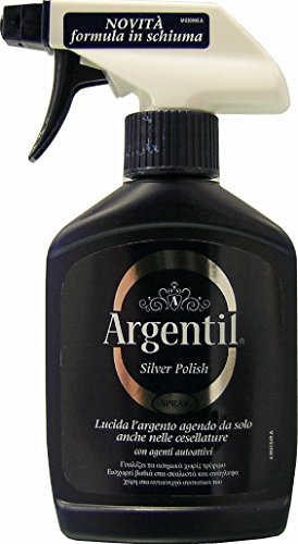 6 x ARGENTIL Lucida Argento Spray 150 ML