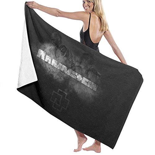 Ramm-Stein Große Badetücher Schnelltrocknende Handtücher Unisex für Dusche / Yoga / Pool / Fitnessraum / Picknick