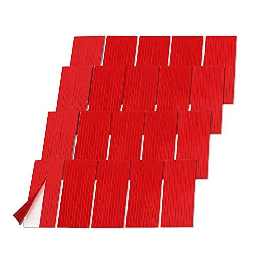 Yojoloin 40 unidades de almohadillas adhesivas para matrícula de coche de doble cara, resistentes, almohadillas de espuma para matrícula, kit de fijación para marco de fotos, póster, bolsa WiF