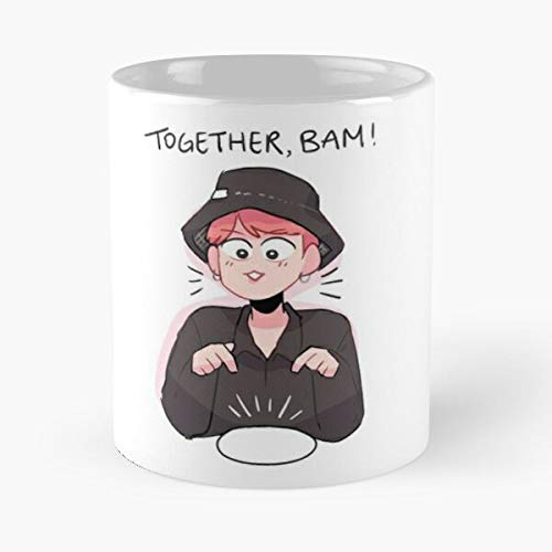 Bts Bon Voyage S3 Together Bam - Classic Mug -11 Oz Coffee Funny Sophisticated Design Great Gifts White-situen.