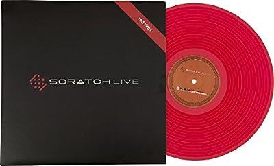 RANE RED TIME CODE VINYL Digital Mix Time code Cd & vinyl