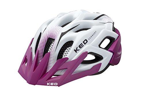 KED Fahrradhelm Status Junior, Violett Pearl Matt, M