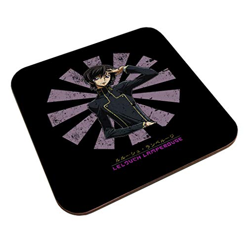 Lelouch Lamperouge Retro Japanese Code Geass Coaster
