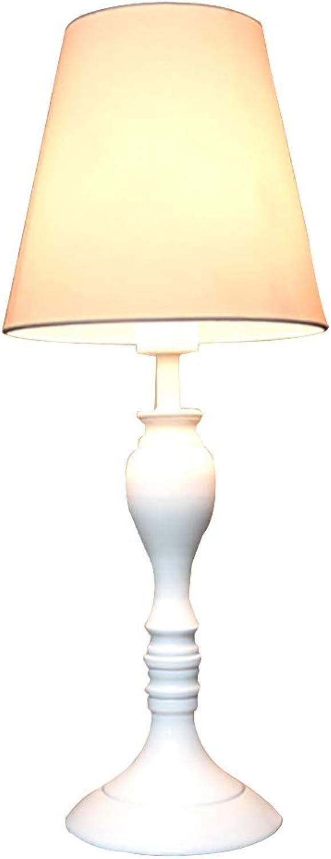 CMES-Schreiblampe Schwarzes Hohlmetall-Wohnzimmer Schlafzimmer Schlafzimmer Nachttischlampe, Schlafzimmer Tischlampe Mit Weiem Stoffton Dimmbar
