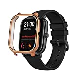 per Xiaomi Huami Amazfit GTS Smart Watch Custodia Protettiva Anti-Scratch Electroplate PC Caso Della Copertura Della Cassa Della Copertura Del Telaio Protezione Antiurto Bumper