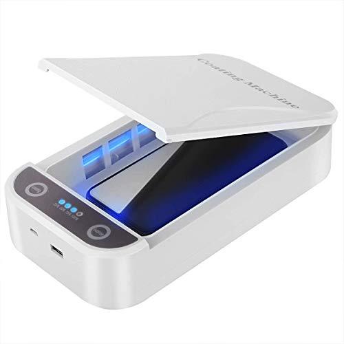 Esterilizador UV, Adecuado para Teléfonos Móviles, Collares, Aretes, Herramientas para Uñas Y Otros Objetos Pequeños.