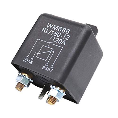 Relé separador de batería RL/180-12, 12 V/100 A, carga máxima para coches, camiones, coches, camping, viviendas, 1 unidad