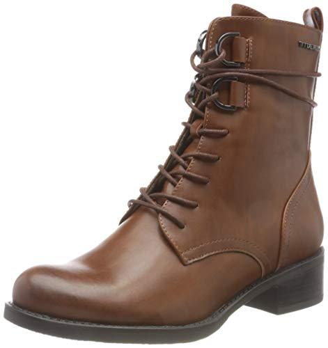 Tom Tailor Womens 9096102 Mid Calf Boot Bootie Boot, Braun, 38 EU