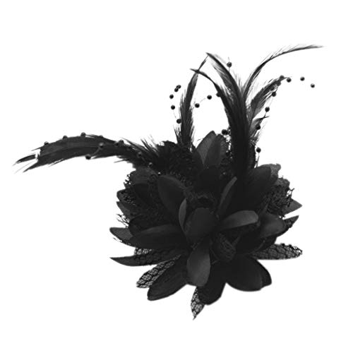 Baoblaze Flor de Seda de Perla para Ramillete, Broche, Muñeca, Adornos con Cuentas...