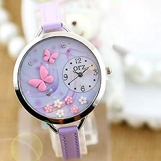ORZ purple butterfly fashion female watch-z818