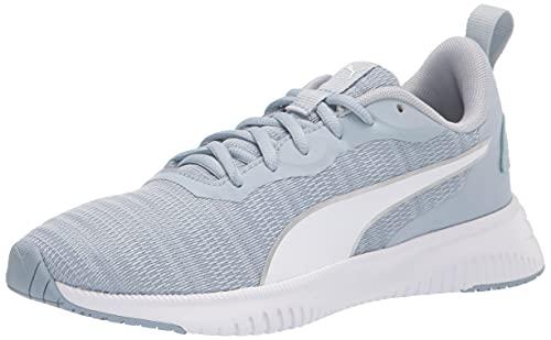 PUMA Women's Flyer Flex Running Shoe, Blue Fog-Metallic Silver, Numeric_9