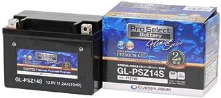 Pro Select Battery (プロセレクトバッテリー) GL-PSZ14S 【YTZ14S FTZ14S互換】 液入充電済MFジェルバッテリー 安心信頼業界最長2年保証付き 長持ち バイクバッテリー すぐ使えるメンテナンスフリー