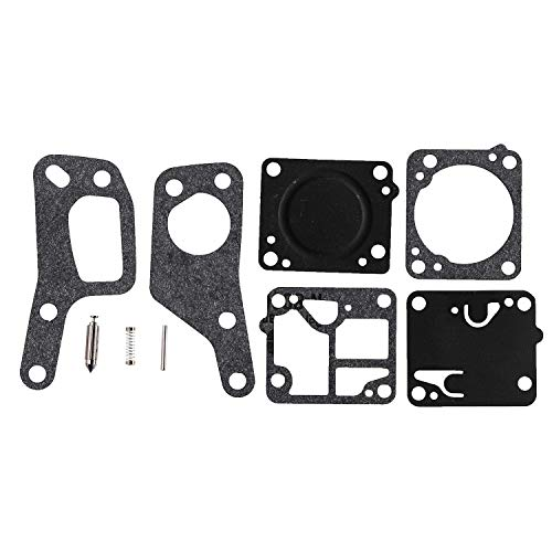 JJDD - Kit de reparación de carburador de Repuesto para Zama M1M7 RB19 Carb Kit para Motosierra McCulloch Mini Mac 110 120 130 140