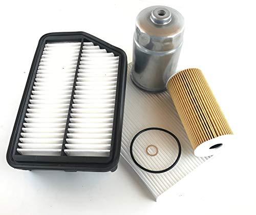 Filter Set Ölfilter Luftfilter Innenraumfilter Kraftstofffilter IX35 Sportage 2.0 CRDi