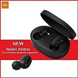 Bainuojia Pour Xiaomi Redmi Airdots, TWS Bluetooth 5.0 Écouteurs Stéréo Bass Wireless Headphone 300mAh Boîte de Charge True Stereo Sound Mini Écouteurs sans fil Écouteurs Bluetooth avec Micro