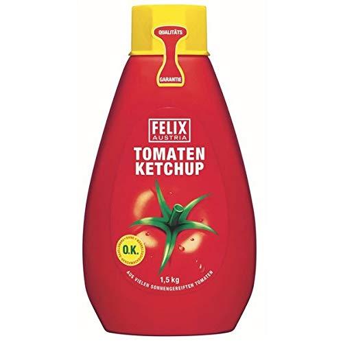 Felix Ketchup 1,5kg, mild 6 x 1,5 kg