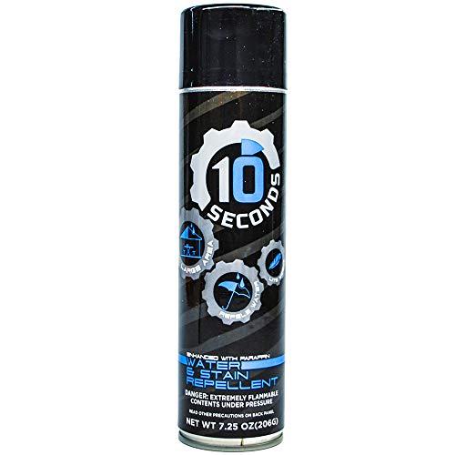 10 Seconds Water Repellent Aerosol 8 Ounces, 1 Can