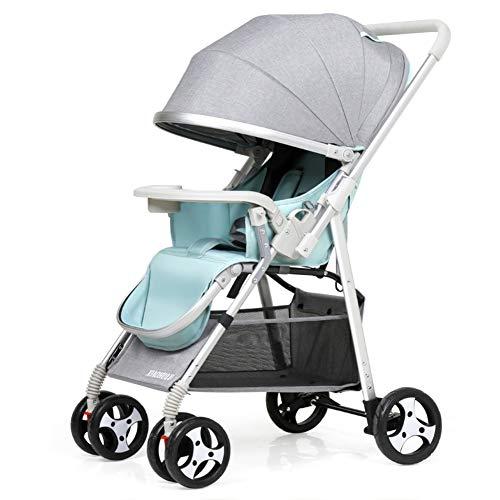 Opvouwbare omkeerbare kinderwagen, Ultralight wasbare baby paraplu wandelwagen draagbare kinderwagen geweldig voor vliegtuig-a