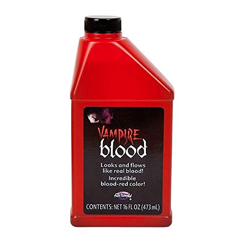 Wicked Wicked Bouteille de Faux Sang de Vampire pour Maquillage dhalloween - 0,47l