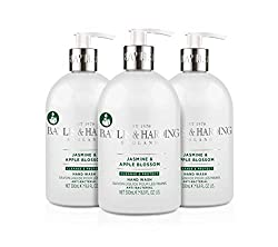 3 x 500 ml Jasmine and Apple Blossom Antibacterial Hand Wash Anti-bacterial, removes everyday germs and leaves hands smelling great Kills 99.9 Percent of bacteria and leaves hands hygienically clean Delicately fragranced with the fruity accords of ap...