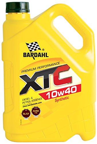 Bardahl 36243 Huile XTC 10W40 Semi synthèse A3/B4-12 (VL)