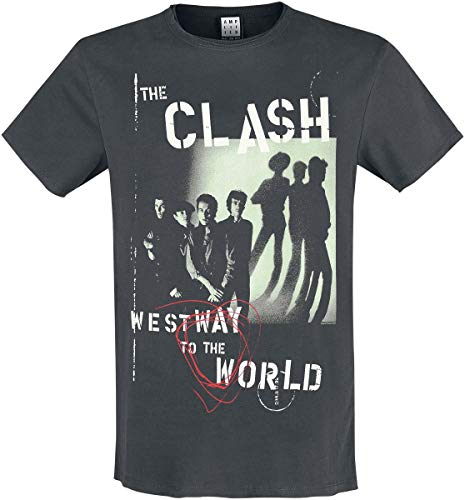 The Clash Amplified Collection - Westway to The World T-Shirt Charcoal S