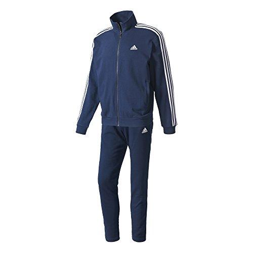 adidas CO Relax TS Trainingsanzug für Herren, Blau (Maruni/Weiß), 174L