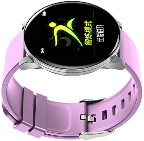 JIAJBG Fitness Tracker Smart Fitness Tracker/Smart Pulsera, W8 Impermeable Color Screen Monitor Sports Smart Pulsera, Pulsera para Niños Mujeres Men Sport Fitness Tracker Desgaste