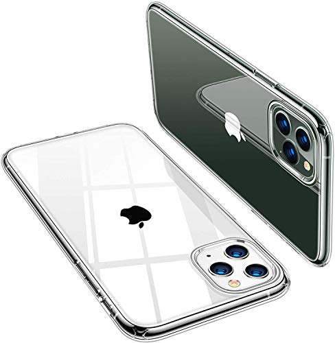 Durchsichtige Handyhülle iPhone 11 - Kristallklare Handy Hülle - Robuste Handy Schutzhülle - Premium iPhone Case - Vergilbungsfreie iPhone 11