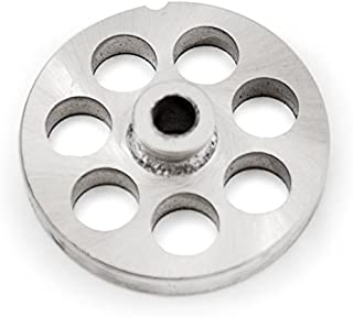 The Sausage Maker - #22 Stainless Steel Meat Grinder Plate with Hub (3/4