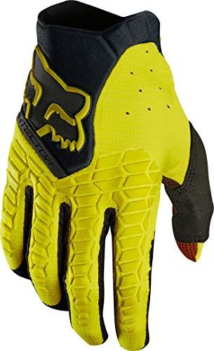 Fox Guantes Pawtector, color amarillo oscuro, talla S