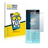 BROTECT Entspiegelungs-Panzerglasfolie kompatibel mit Nokia 216 - Anti-Reflex Panzerglas Schutz-Folie Matt