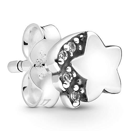 Pandora Pendientes de botón Mujer Plata esterlina No aplicable - 298549C01