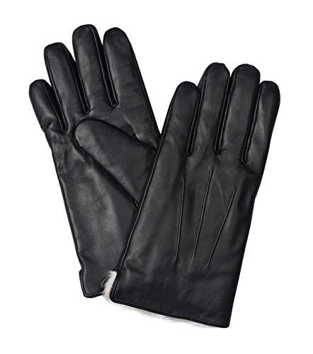 Messerio Sheepskin Leather Winter Gloves for Men 2
