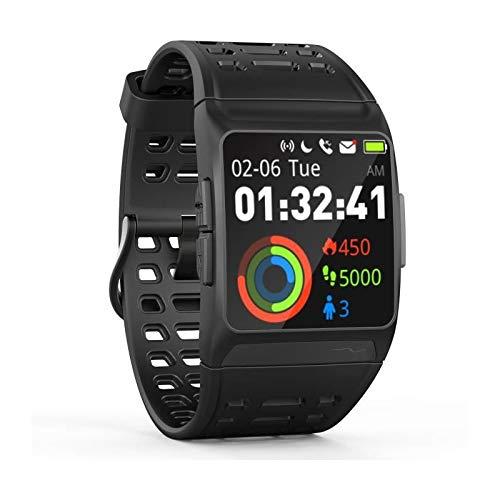 Wee'Plug Explorer 3s Black Smartwatch für Erwachsene, Unisex, Schwarz, Einheitsgröße
