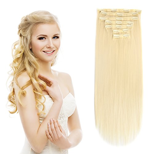Clip in Hair Extensions Triple Weft 20