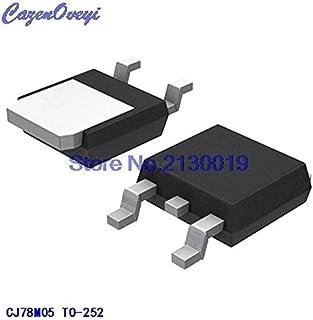 10個セット CJ78M05 TO-252電圧レギュレータチップとして新しい