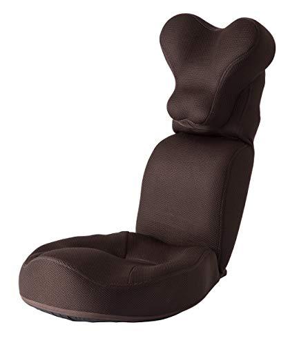 PROIDEA プロイデア 肩・首スッキリ座椅子 HOGUURE【ブラウン】