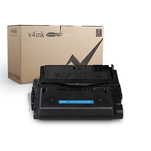 v4ink Compatible Toner Cartridge Replacement for HP Q5942A 42A for use with HP Laserjet 4250 4250N 4250TN 4250DTN 4350N 4350TN 4350DTN Series Printers (Black 1 Pack)