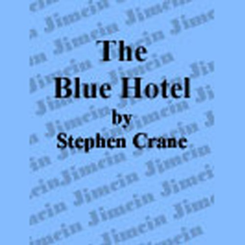 The Blue Hotel audiobook cover art