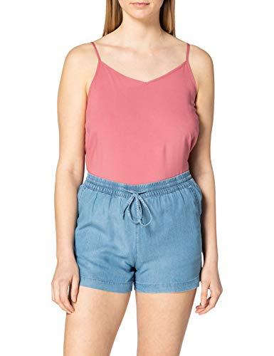 Only ONLPEMA Lyocell Life DNM Shorts Box Pantalones Cortos, Medio De Mezclilla Azul, XL para Mujer