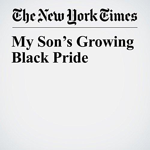 My Son's Growing Black Pride copertina