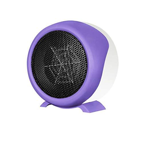 SXHYL Mini-Heizung Haushalt Grillen Herd kleine Heizung kleine Solar-Heizung Warmventilator elektrischen Heizung Heißluftheizung Heißluftheizung Heißluftheizung Heizkörper,Purple