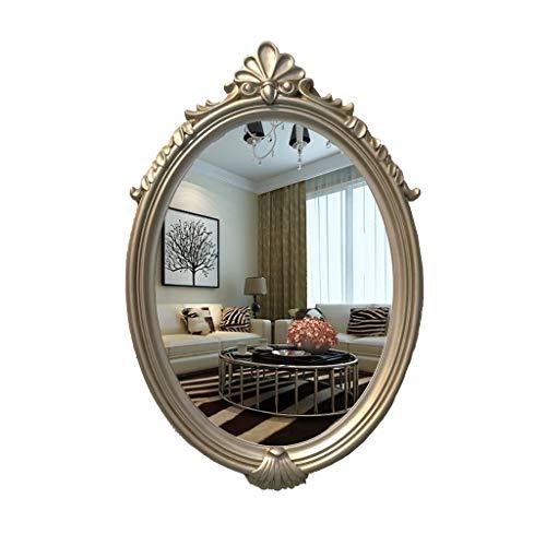 Kapperszaak mirror Badkamerspiegel, Fashion Home Hotel Bathroom Wastafel Badkamer Retro Rechthoekige High Frame Mirror, Opknoping Decorative grote spiegel Kapsalon kapperszaak spiegel