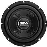 1 subwoofer Compatible con Boss Audio Systems CXX8 CXX 8 20,00 cm 200 mm 8' 4 ohmios 300 vatios rms 600 vatios máx 83 db suspensión de Goma, 1 Pieza