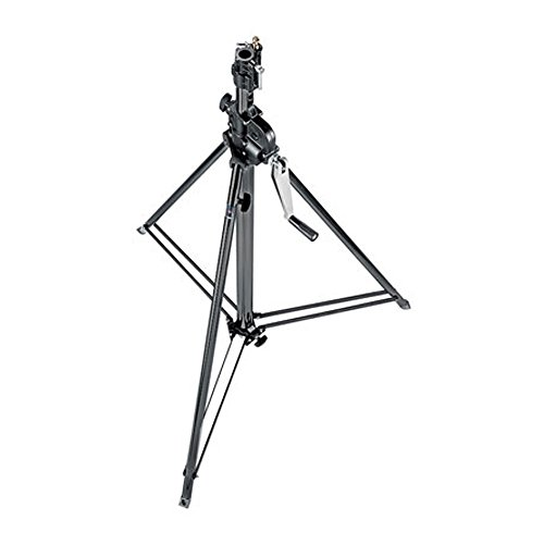 Manfrotto statief Wind-Up zwart 2-delig