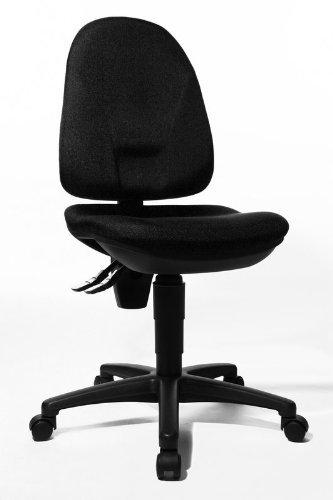 Preisvergleich Produktbild Topstar Bürostuhl mit Bandscheibensitz schwarz Point 30 - Hartbodenrollen