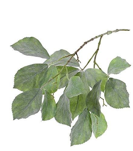 artplants.de Rama de viña Virgen Falsa Devin, Verde, 80cm - Tallo de Parra Artificial - Vid sintética