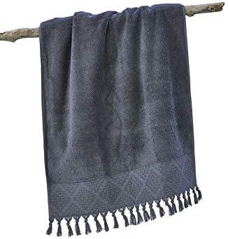 4 Farben m/öglich Done:Anthracite 3900 2X G/ästetuch mit Fransen f/ür/´s Bad Baumwolle Done Provence BOH/ÈME 4er Set aus 2X Handtuch